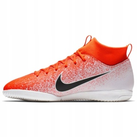 Indoor shoes Nike Mercurial SuperflyX 6 Academy Ic Jr AH7343-801 orange multicolored 1