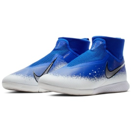 Indoor shoes Nike React Phantom Vsn Pro Df Ic M AO3276-410 multicolored blue 3