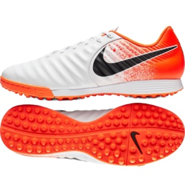 Football shoes Nike Tiempo LegendX 7 Academy Tf M AH7243-118 white multicolored 7