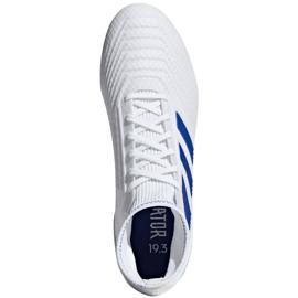 Football boots adidas Predator 19.3 Fg M BB9333 white multicolored 2