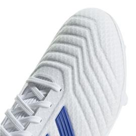 Football boots adidas Predator 19.3 Fg M BB9333 white multicolored 3