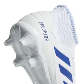 Football boots adidas Predator 19.3 Fg M BB9333 white multicolored 4