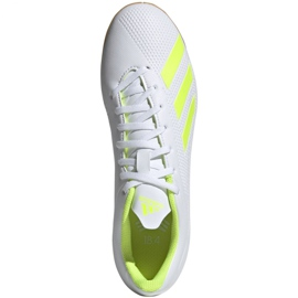 Indoor shoes adidas X 18.4 In M BB9407 white multicolored 1