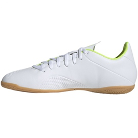 Indoor shoes adidas X 18.4 In M BB9407 white multicolored 2