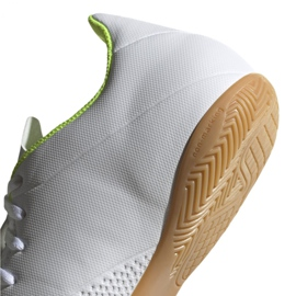 Indoor shoes adidas X 18.4 In M BB9407 white multicolored 4