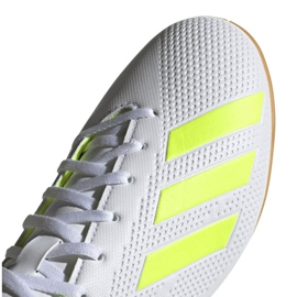 Indoor shoes adidas X 18.4 In M BB9407 white multicolored 5