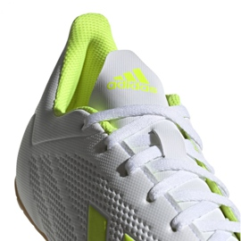 Indoor shoes adidas X 18.4 In M BB9407 white multicolored 6