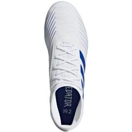 Football boots adidas Predator 19.2 Fg M D97941 white multicolored 2