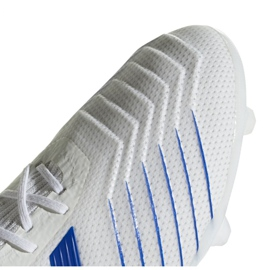 Football boots adidas Predator 19.2 Fg M D97941 white multicolored 3