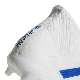 Football boots adidas Predator 19.2 Fg M D97941 white multicolored 4