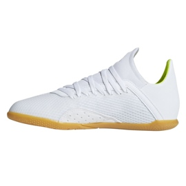 Indoor shoes adidas X 18.3 In Jr BB9397 white multicolored 1