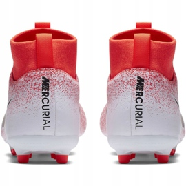 Nike Mercurial Superfly 6 Academy Mg Jr AH7337-801 Football Boots red multicolored 4