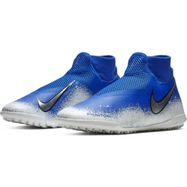 Football shoes Nike Phantom Vsn Academy Df Tf M AO3269-410 multicolored blue 4