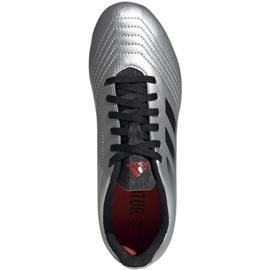 Football boots adidas Predator 19.4 FxG Jr G25822 multicolored silver 2