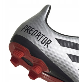 Football boots adidas Predator 19.4 FxG Jr G25822 multicolored silver 4
