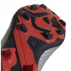 Football boots adidas Predator 19.4 FxG Jr G25822 multicolored silver 5