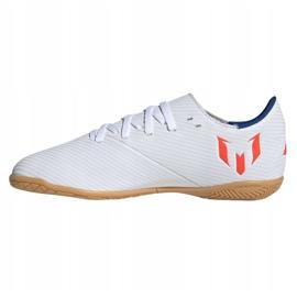Indoor shoes adidas Nemeziz Messi 19.4 In Jr F99928 white multicolored 1