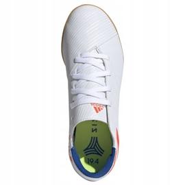 Indoor shoes adidas Nemeziz Messi 19.4 In Jr F99928 white multicolored 2