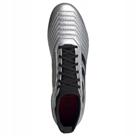 Football boots adidas Predator 19.3 Ag M F99989 multicolored silver 2