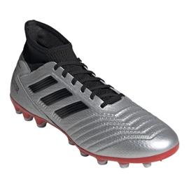 Football boots adidas Predator 19.3 Ag M F99989 multicolored silver 3