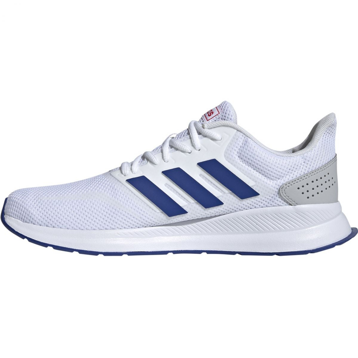 Running shoes adidas Runfalcon M EF0148 white blue