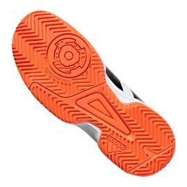 Adidas Stabil Jr F33830 handball shoes white black grey 2
