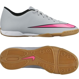Nike Mercurial Vortex Ii Indoor Shoes 651648-060 grey multicolored 2