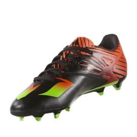 Football boots adidas Messi 15.3 Fg M AF4852 black black 2