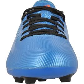 Football boots adidas Messi 16.4 Fxg Jr S79648 blue blue 2
