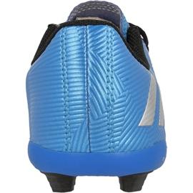 Football boots adidas Messi 16.4 Fxg Jr S79648 blue blue 3