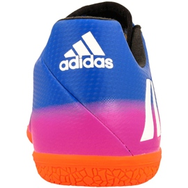 Adidas Messi 16.3 In M BA9018 indoor shoes blue blue 2