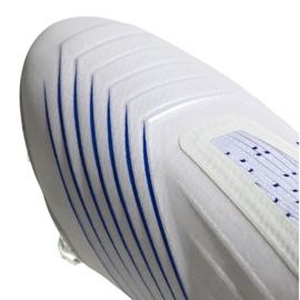 Football boots adidas Predator 19+ Fg M BC0548 white white 5