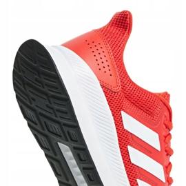 Adidas Runfalcon M F36202 training shoes red 1