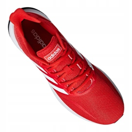Adidas Runfalcon M F36202 training shoes red 3
