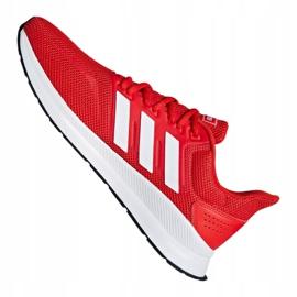 Adidas Runfalcon M F36202 training shoes red 5