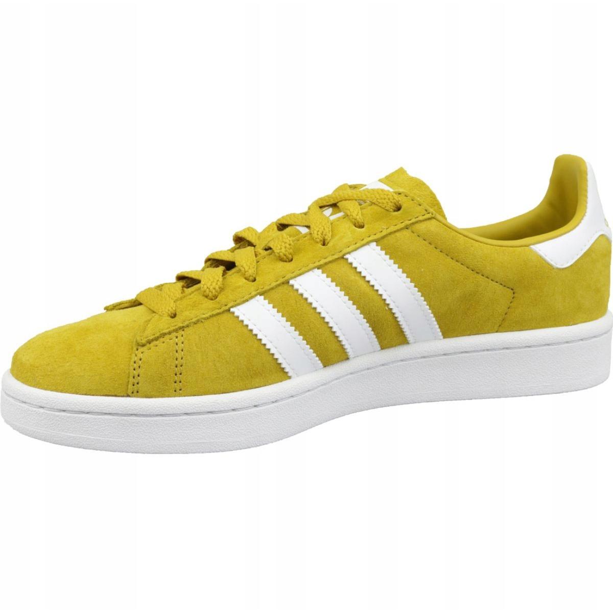 Adidas Originals Campus M CM8444 shoes yellow