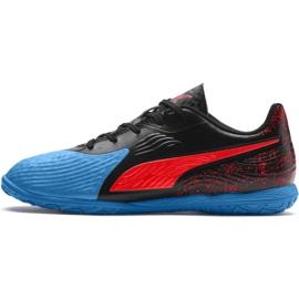 Indoor shoes Puma One 19.4 It Jr 105504 01 black black 2
