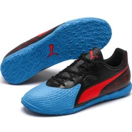 Indoor shoes Puma One 19.4 It Jr 105504 01 black black 3