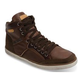 XF117 Camel High Sneakers brown 4