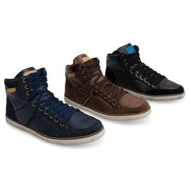 XF117 Camel High Sneakers brown 5