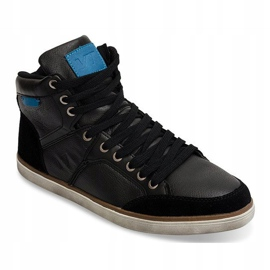 High Sneakers XF117 Black 2