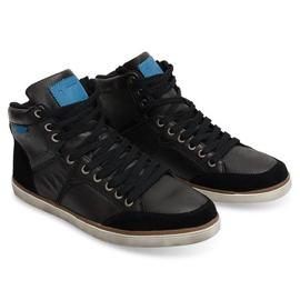 High Sneakers XF117 Black 1