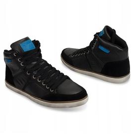 High Sneakers XF117 Black 3
