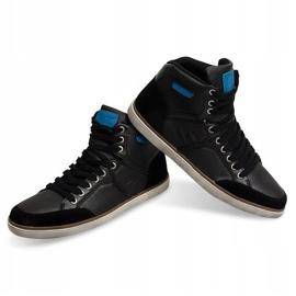 High Sneakers XF117 Black 4