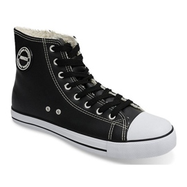 High Insulated Sneakers 6209-3 Black 3