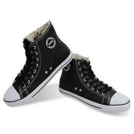 High Insulated Sneakers 6209-3 Black 1