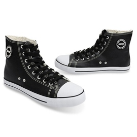 High Insulated Sneakers 6209-3 Black 4