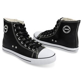 High Insulated Sneakers 6209-3 Black 5