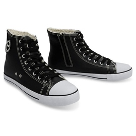 High Insulated Sneakers 6209-3 Black 6