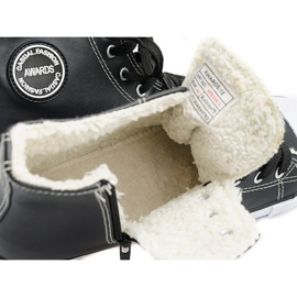 High Insulated Sneakers 6209-3 Black 2